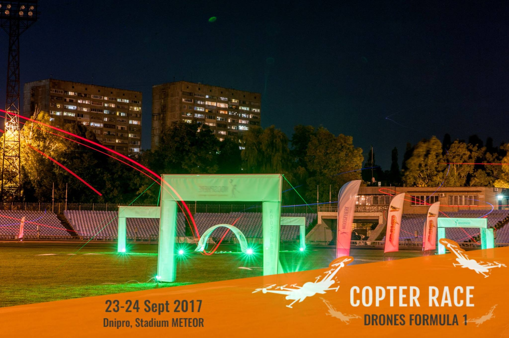 FAI World Cup stage in drone racing 2017